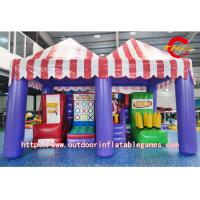 Quality Giant Inflatable Basketball Hoop Games / Wonderful Inflatable Shooting Gallery for sale