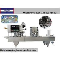 Quality XBG60-10 Automatic Milk Tea Filling and Sealing Machine for sale