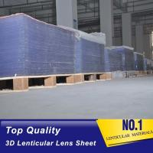 China Factory supply 20LPI 25LPI 30 LPI 40LPI 3D lenticular lens sheets For flip 3D image billboard advertising Cote D'Ivoire on sale