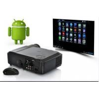 Quality 1080P Digital LCD Projector WIth Android 4.04 System & Wifi For Home Theatre for sale
