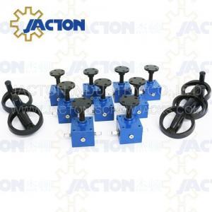 China Screw electric powered jack Small Screw Jack With Stroke 1300mm Worm Gear motorized screw jacks on sale