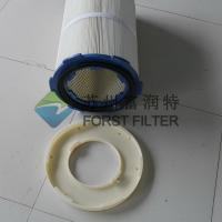 Quality FORST Manufacturer Ployester Material Metal Air Cartridges Rubber Cap Filters Cartridge for sale