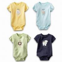Quality Baby Romper with Various Designs, Made of 100% Cotton for sale