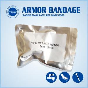 Industry 2inch Black Repair Bandage Cast Bandage Handale Tube Repair Bandage CE Certificate Fiberglass Armor Wrap Tape