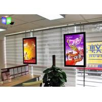 Quality Double Sided Lightbox With Snap Frame , Acrylic Thin LED Light Panel Display for sale
