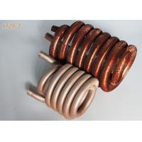 China Copper or Copper Nickel Refrigerator Condenser Coil Tin plating outside surface on sale