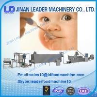 Quality China supplier 380v/50Hz Automatic Nutritional baby rice powder processing line for sale