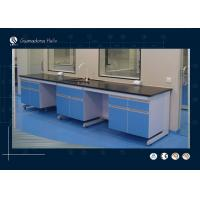 Quality Marble Worktops Computer Lab Funriture Dust Proof For Research Department for sale