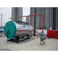 Quality Horizontal 3 Pass Industrial Steam Boilers For Paper Box Carton Factory for sale