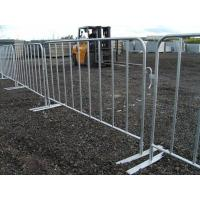 A construction sites with steel barricades surrounded.