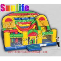 Quality hot sell inflatable jumper slide combo com044 for sale