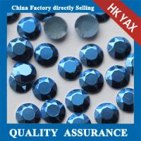 Quality China Factory 2mm 3mm Silver Gold Matte hot fix rhinestud manufacturers for apparel for sale