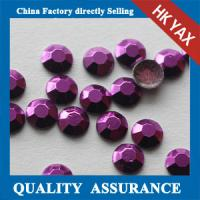 Buy cheap China Bulk Price Fashion Amethyst Colors 5mm 6mm transfer decorative studs for from wholesalers