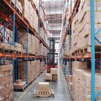 Quality Heavy Duty Metal Cold Storage Pallet Rack Customized Color For Warehouse for sale