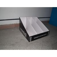 Quality PDQ Floor Corrugated Cardboard Counter Displays Units for Greeting Card for sale