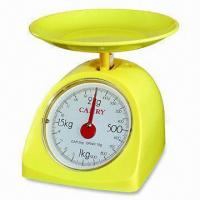 China Kitchen Scale with 500g Capacity and 2g Graduation, Available in Yellow Color on sale