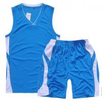 Buy 100% polyester sport wear vest and short suit for men with dry fit function at wholesale prices