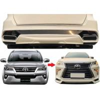 Quality Lexus Style Body Kits Front Bumper and Rear Bumper for Toyota Fortuner 2016 2018 for sale
