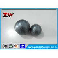 Quality High Hardness Chrome grinding balls / grinding media ball for cement mining for sale