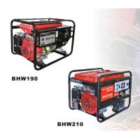 Quality 200A Small Gasoline Powered Generator , Recoil Starter BHW210E for sale