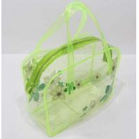 Quality PVC Tote Bag, Jelly Cute Transparent Crystal Beach Bag,  Ladies toilet bag for sale