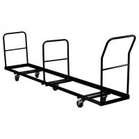 Quality custom Black Color Heavy Duty Mobile Folding Chair Truck Logistic Cart with wheels for sale