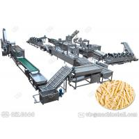 Quality Henan GELGOOG Fresh Potato Chips Production Line Making French Fries High Automation for sale