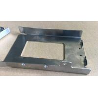 Welding Sheet  Metal Stamping Process Parts With Logo Engraving / Stainless Steel Plate
