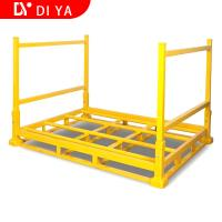 Quality Foldable Heavy Duty Metal Steel Storage Rack Foldable Stacking Rack For Warehouse for sale