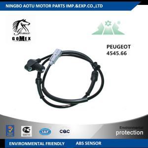 Quality CE Car wheel speed sensor automobile part for PEUGEOT CITROEN for sale