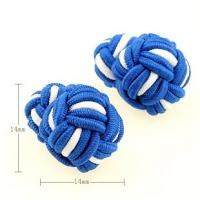 2014 New Arrival Colorful Silk Knot Cufflinks