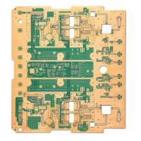 Quality 8 Layer PCB Printed Circuit Board Fabrication Hard Gold Au 30u ENIG for Military for sale