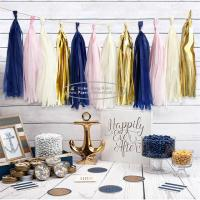 Buy Tassel Garland Outdoor And Indoor Paper Wedding Happy Birthday Garland at wholesale prices