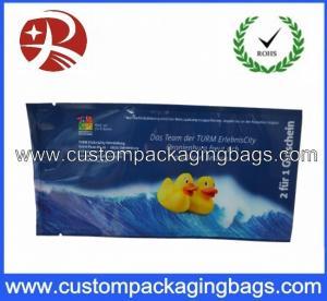 China Printed Plastic Food Packaging Bags , Side Gusset Wet Wipes Tissue Packaging Bag on sale