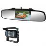 "Buy cheap supper slim car rearview mirror 4.3"" digital TFT panel clip mount bracket, Rear from wholesalers"