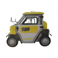 Quality 120Ah Gel Battery 2 Seats 4 Wheel Drive Electric Car , 2.8KW Smart Auto Electric Car for sale