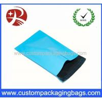 China Baby Blue Plastic Inflatable Packaging Blue Polythene Postal Mailing Bag on sale