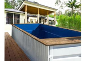 China Topshaw Customize Free Design 20ft 40ft Australia DIY Shipping Container Pool on sale