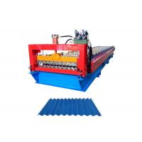 Quality Building Material Corrugated Steel Panel Roll Forming Machine Roller Diameter 80MM for sale