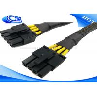 Quality Black HDMI Active Optical Cable , 15 Pin Male to Molex IDE 4 Pin Power Cable for sale