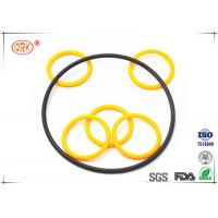 Quality Buna O Rings Yellow Fuel And Oil Resistant  Abrasion Resistance For Automotive for sale