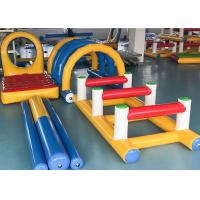 Quality Outdoor Sport Inflatable Hurdles 4 Sets Series With Soft Protection for sale