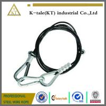 "Quality Mazzella Mechanical Splice Wire Rope Sling, Eye-and-Eye, 6 x 25 IWRC, 8' Length, 1/2"" Diam for sale"