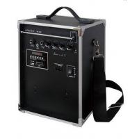 China 50W 80dB 210~270MHz USB, SD, MMC, MP3 PA Portable Sound Systems With Rechargeable Battery on sale