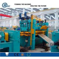 China 0.3 -1.2mm Roll / Coil / Sheet Metal Slitting Line Machine With 4Kw Hydraulic Station Power on sale