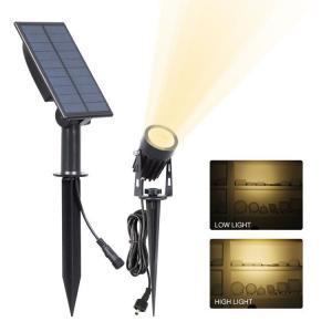 Quality Solar Spot Garden Lights Ground Stick Into Outdoor Landscape Lighting Sensor ActivaedAuto OFF/ON For Patio,Yard for sale