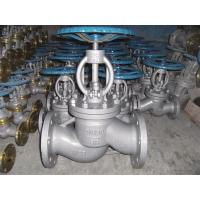 China 3 Inch Class A Flanged Globe Valve , 150 Class Carbon Steel Globe Valve on sale