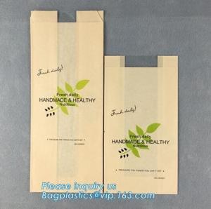 Quality bread paper craft bag,Best Selling Free Sample Handle Custom Design Logo Paper Food Bread Bag,Food grade printed bakery for sale