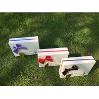 Quality Customized Empty Rigid Paper Gift Box Chocolate Gift Box Packaging For Festival for sale