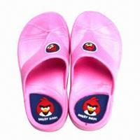 Quality Children's Flip-flops with EVA Outsole, Fashionable Design, Various Colors are Available for sale